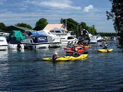B&B Galway near boating activities